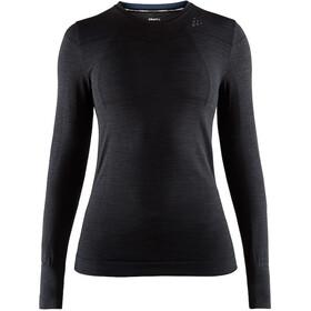 Craft Fuseknit Comfort Koszulka z długim rękawem Kobiety, black